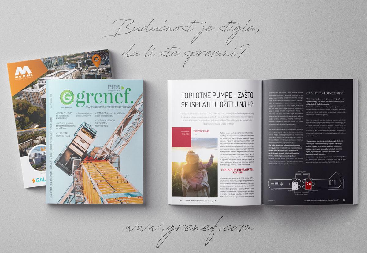Časopis GRENEF, broj 7, oktobar 2019