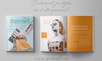 Časopis GRENEF - Građevinarstvo & Energetska Efikasnost broj 7, oktobar 2019