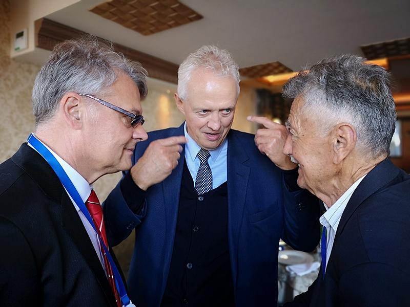 Gg. Žikica Andrejević, Jan Boone i Radmilo Grković