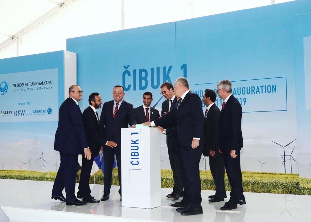 """Projekat """"Čibuk"""" snage 158 MW snabdevaće energijom 113.000 domaćinstava"""