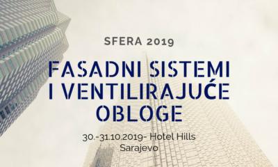 Sfera 2019: Fasadni sistemi i ventilirajuće obloge