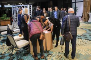 Učenici, izlagači i gosti na konferenciji Sfera