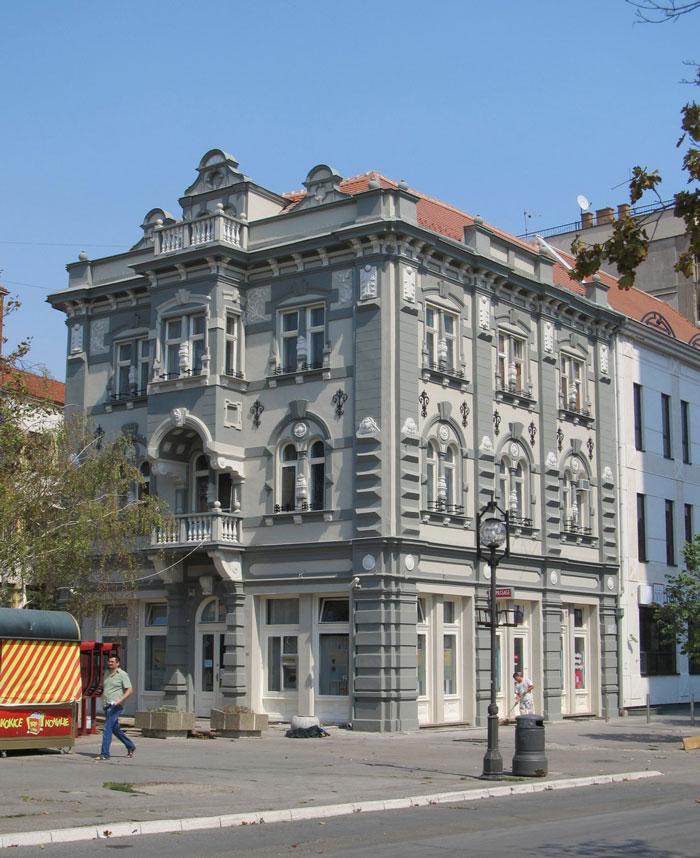 Bukovčeva palata (izgrađena 1895. godine, restaurirana 2012.)