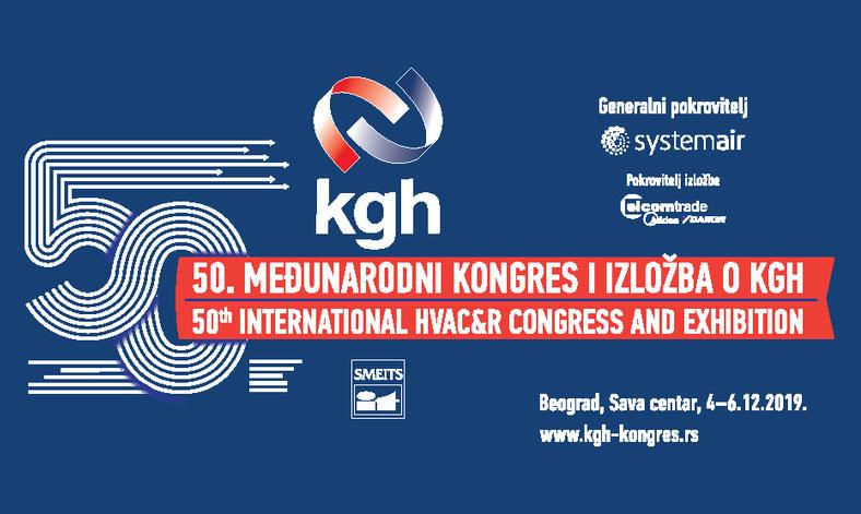 Pedeseti međunarodni kongres i izložba o klimatizaciji, grejanju i hlađenju (KGH)