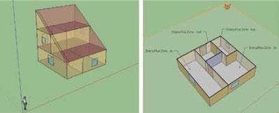 Slika 1. Modelirana stambena zgrada