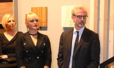 Ambasador Austije gospodin Nicolaus Lutterotti i nova direktorka Melanija Pavlović