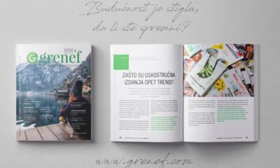 Časopis GRENEF - Građevinarstvo & Energetska Efikasnost broj 8, januar 2020