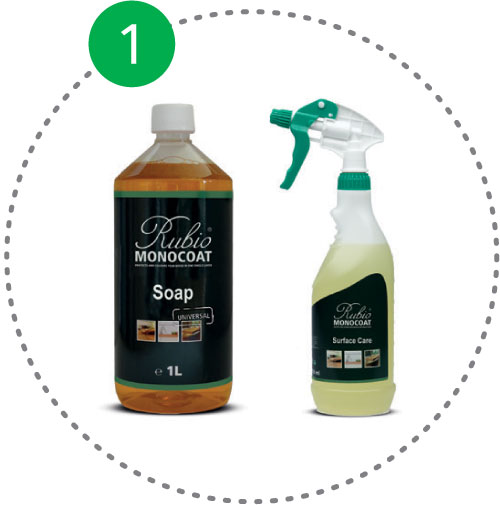 Rubio Monocoat Universal Soap ili Rubio Monocoat Surface Care