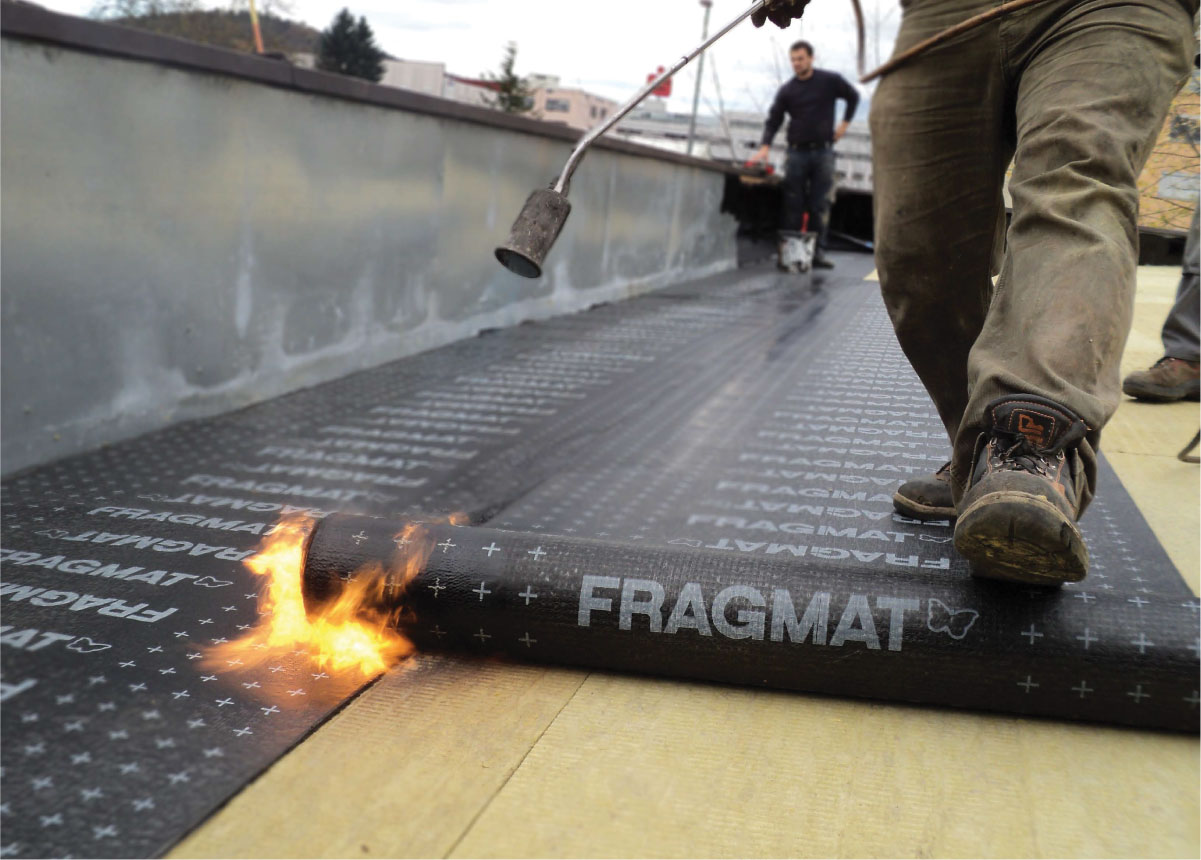 Hidroizolacija ravnog krova - Fragmat S