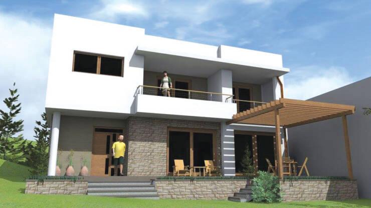 3D projekat porodične kuće