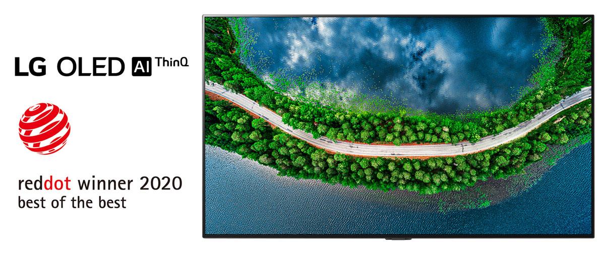 Red Dot Award winner - LG OLED TV