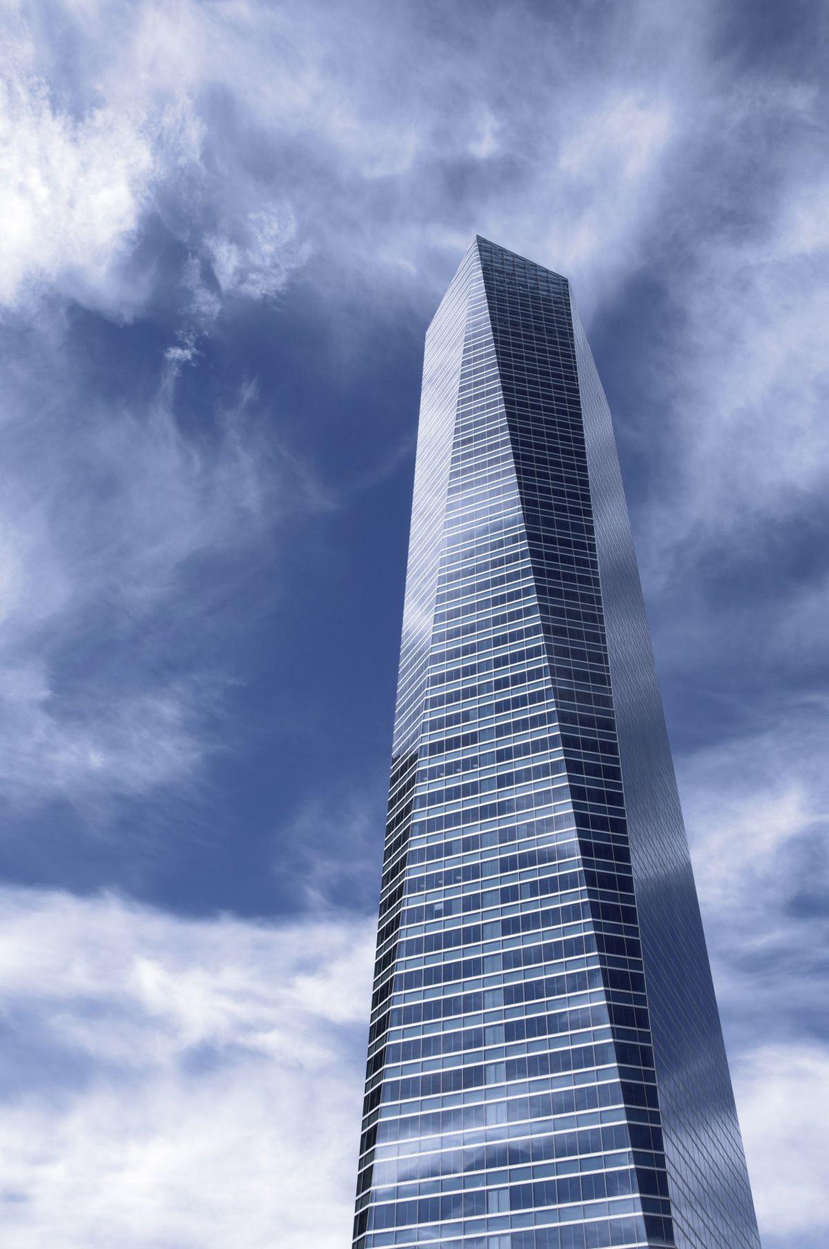fasada od stakla na neboderima