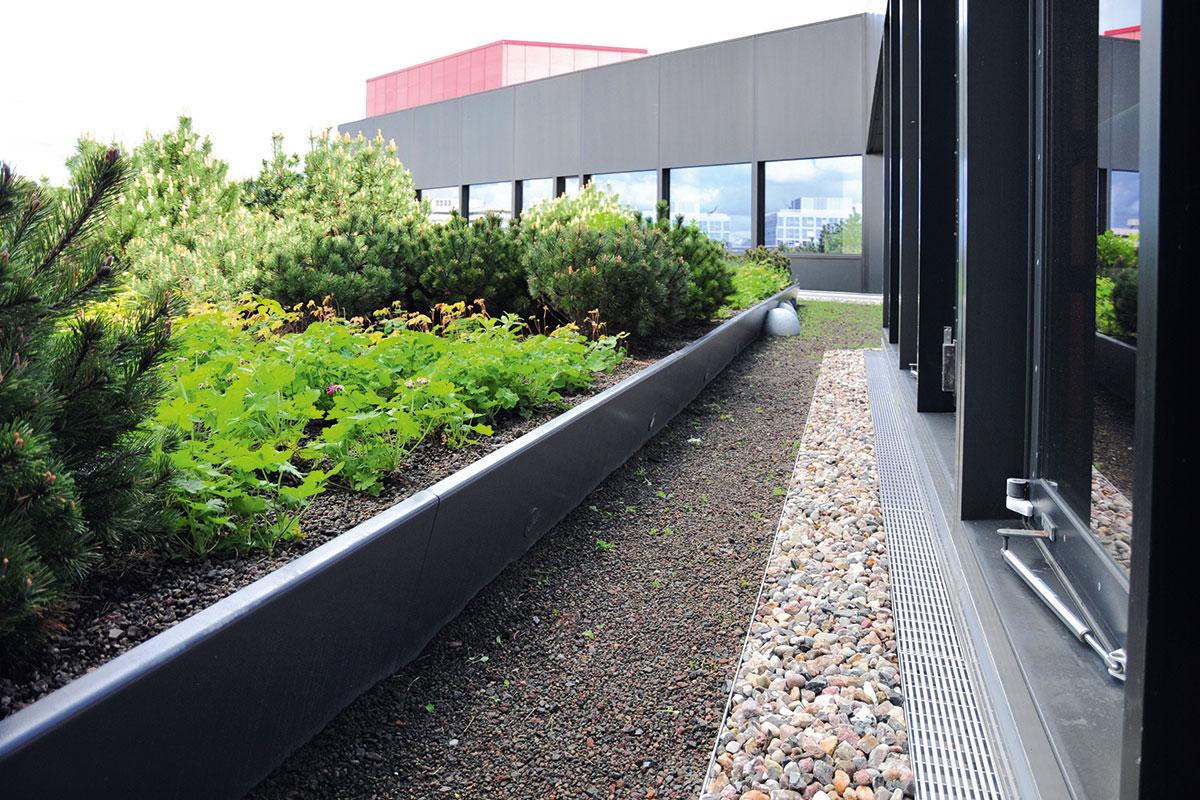 Sistem linijskog odvodnjavanja za ravne i zelene krovove, fasade, terase i balkone - ACO Profiline®