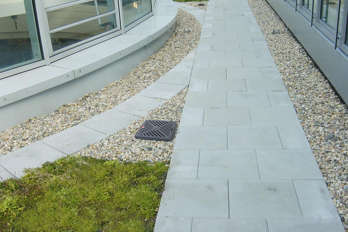 Vrhunsko rešenje za odvodnjavanje zelenih krovova - ACO Spin krovni slivnici