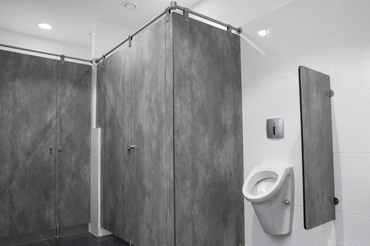 Kompakt ploče za enterijer - pregrade za toalet kabine
