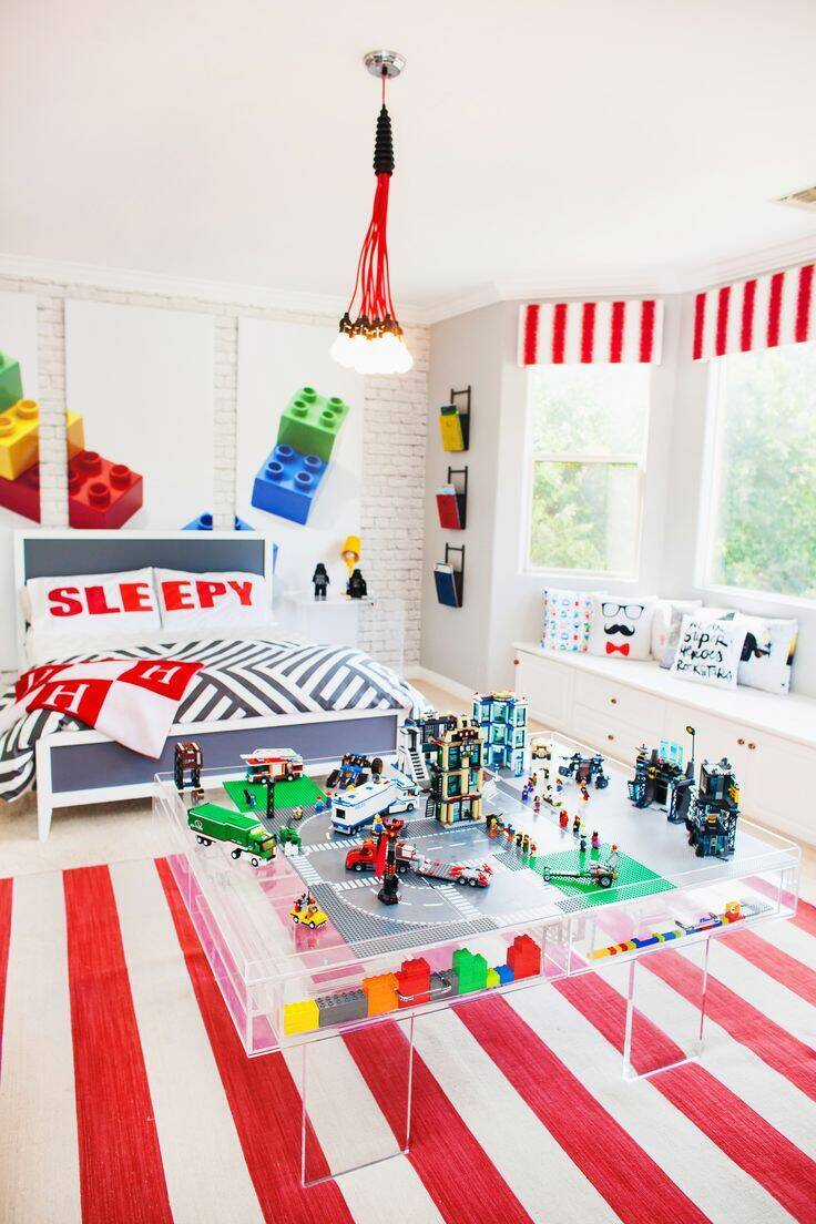 Lego enterijer