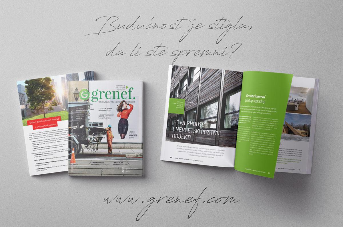 Časopis GRENEF - Građevinarstvo & Energetska Efikasnost broj 9, april/maj/jun 2020