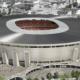 Sistem za odvođenje toplote i dima na stadionu Ferenc Puškaš