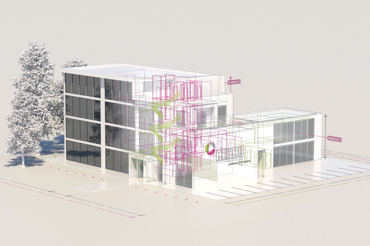 REHAU / Building Information Modeling