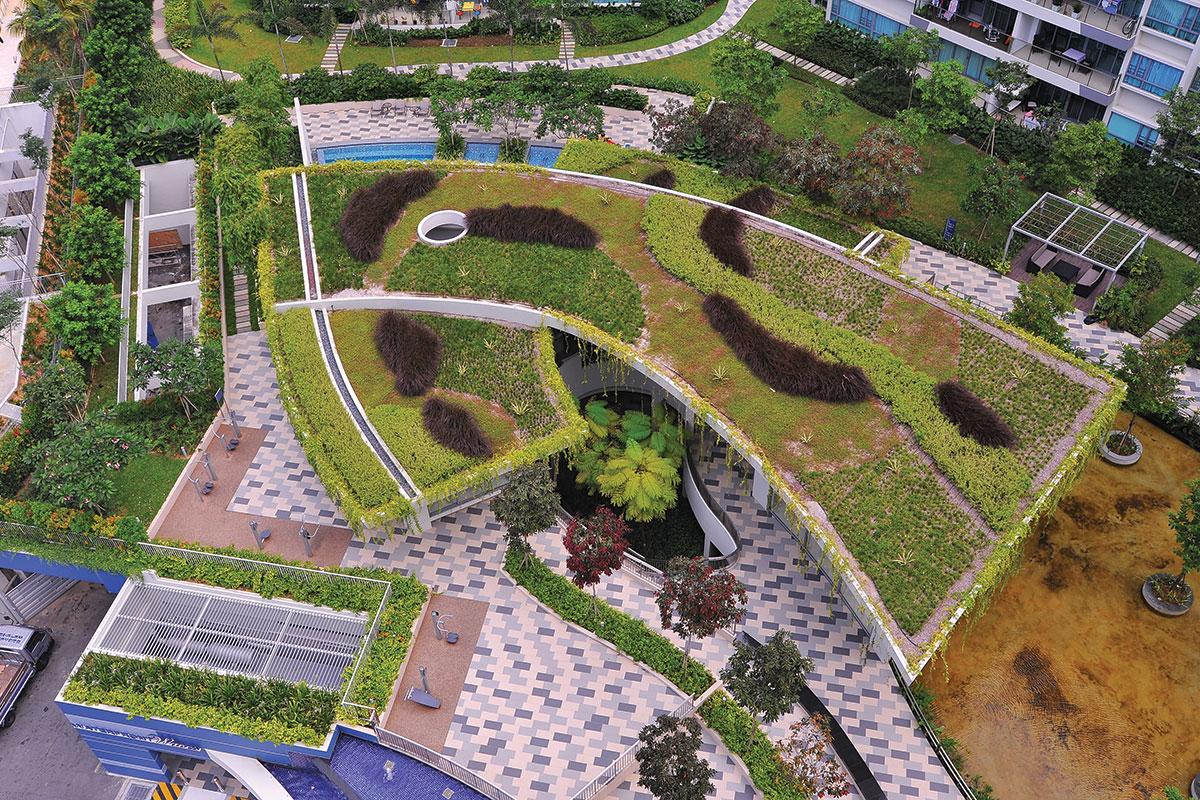 ACO RoofBloxx® je kompletan sistem za upravljanje površinskim vodama namenjen za plave, zelene i plavo/zelene krovove
