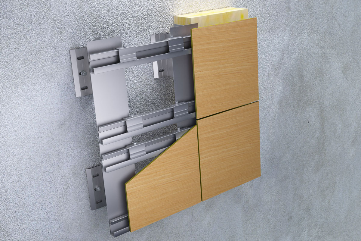 Tehnomarket VENT sistem podkonstrukcije