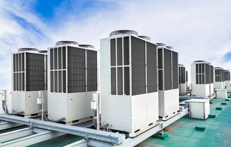 Jedinice za klimatizaciju i ventilaciju na krovu