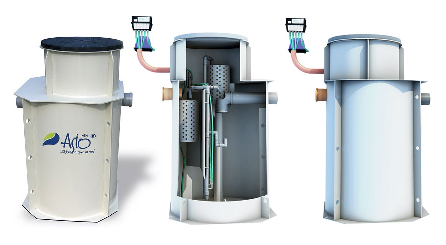 Postrojenje za prečišćavanje otpadnih voda AS-MONOcomp