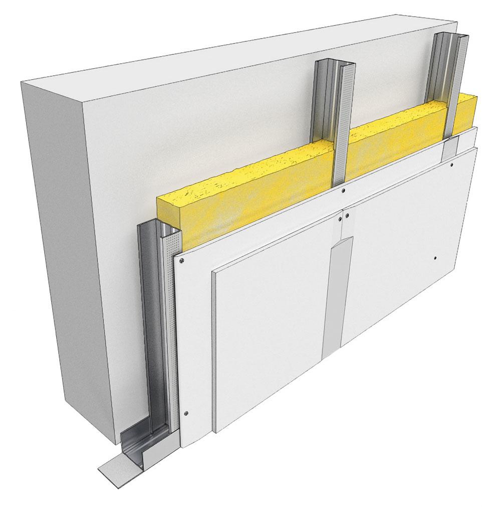 montaža gips-kartonskih ploča na unutrašnje zidove