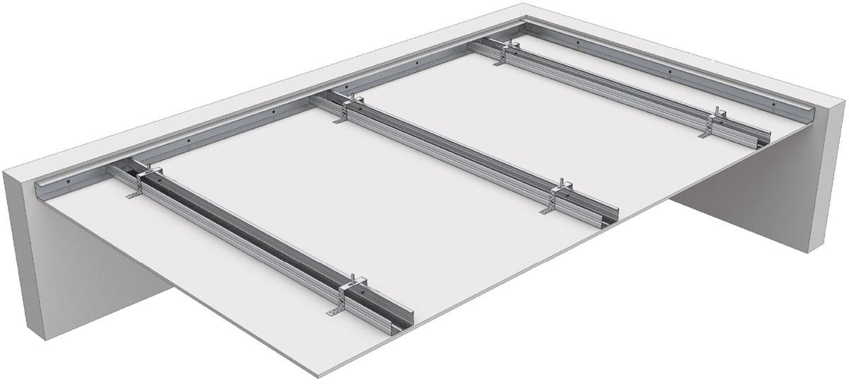 montaža gips-kartonskih ploča na plafon