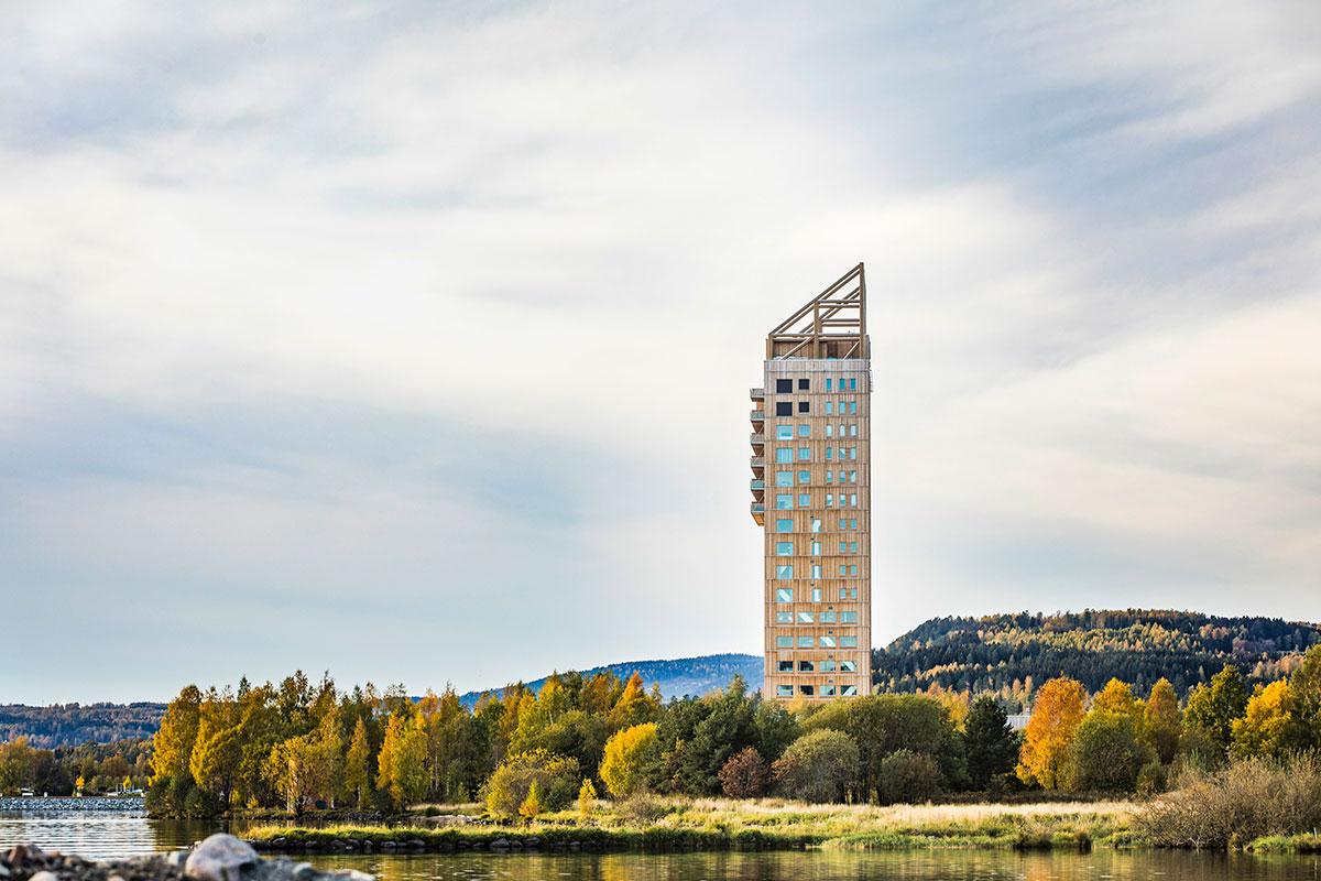 Norveška je država sa zvanično najvišim drvenim neboderom Mjostårnet