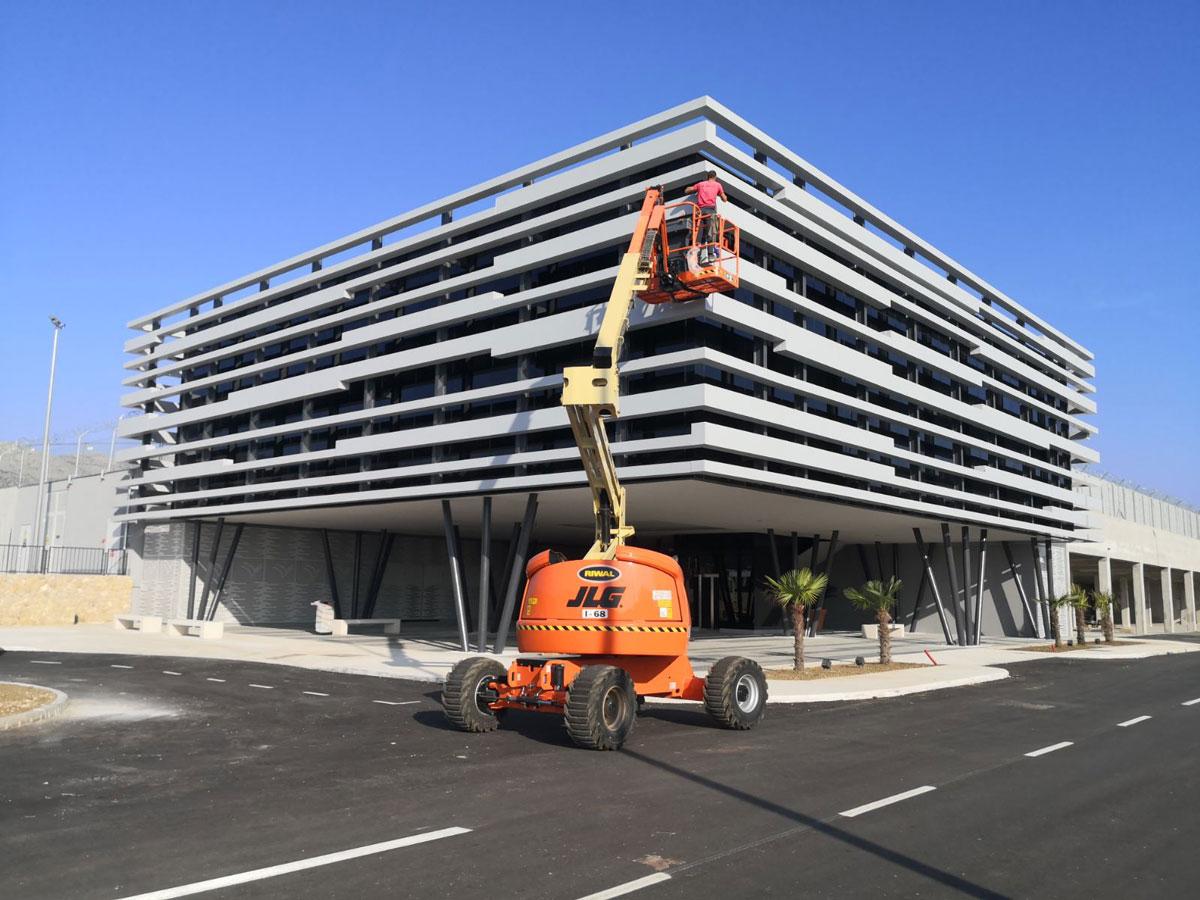 Larson fasadni paneli - Aerodrom Dubrovnik, VIP terminal, Hrvatska