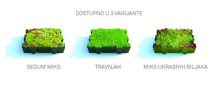 Green Decor doo / Tipovi zelenog krova
