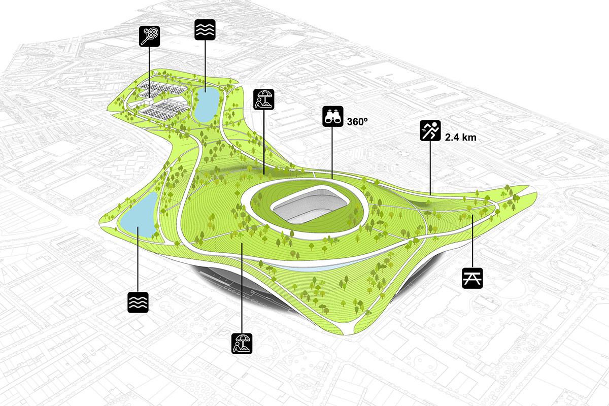 kamp nou stadion park