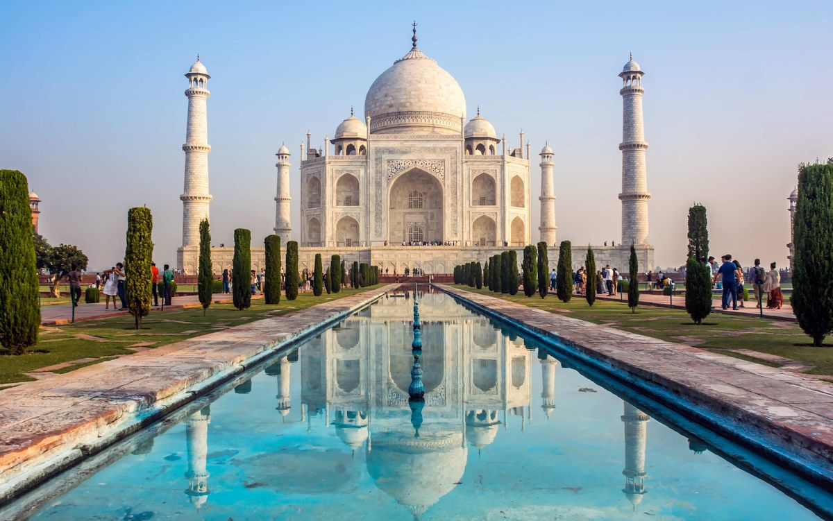 Tadž Mahal, Indija