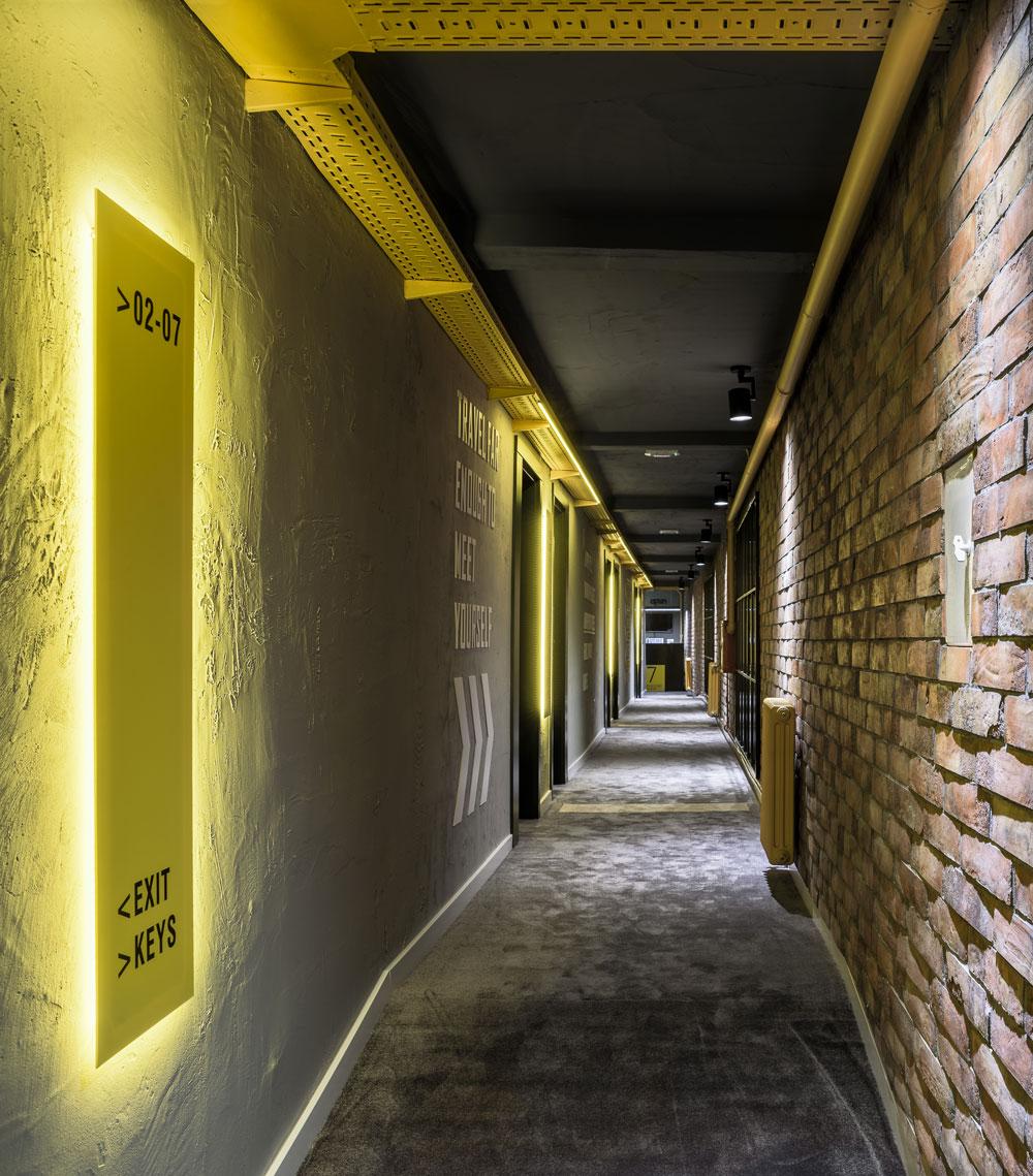 "Hotel u Beogradu ""7 Rooms"" projekat arh. studia A4 studio"