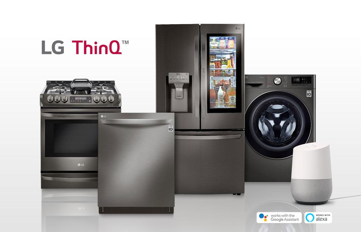 LG ThinkQ Pametni kućni uređaji