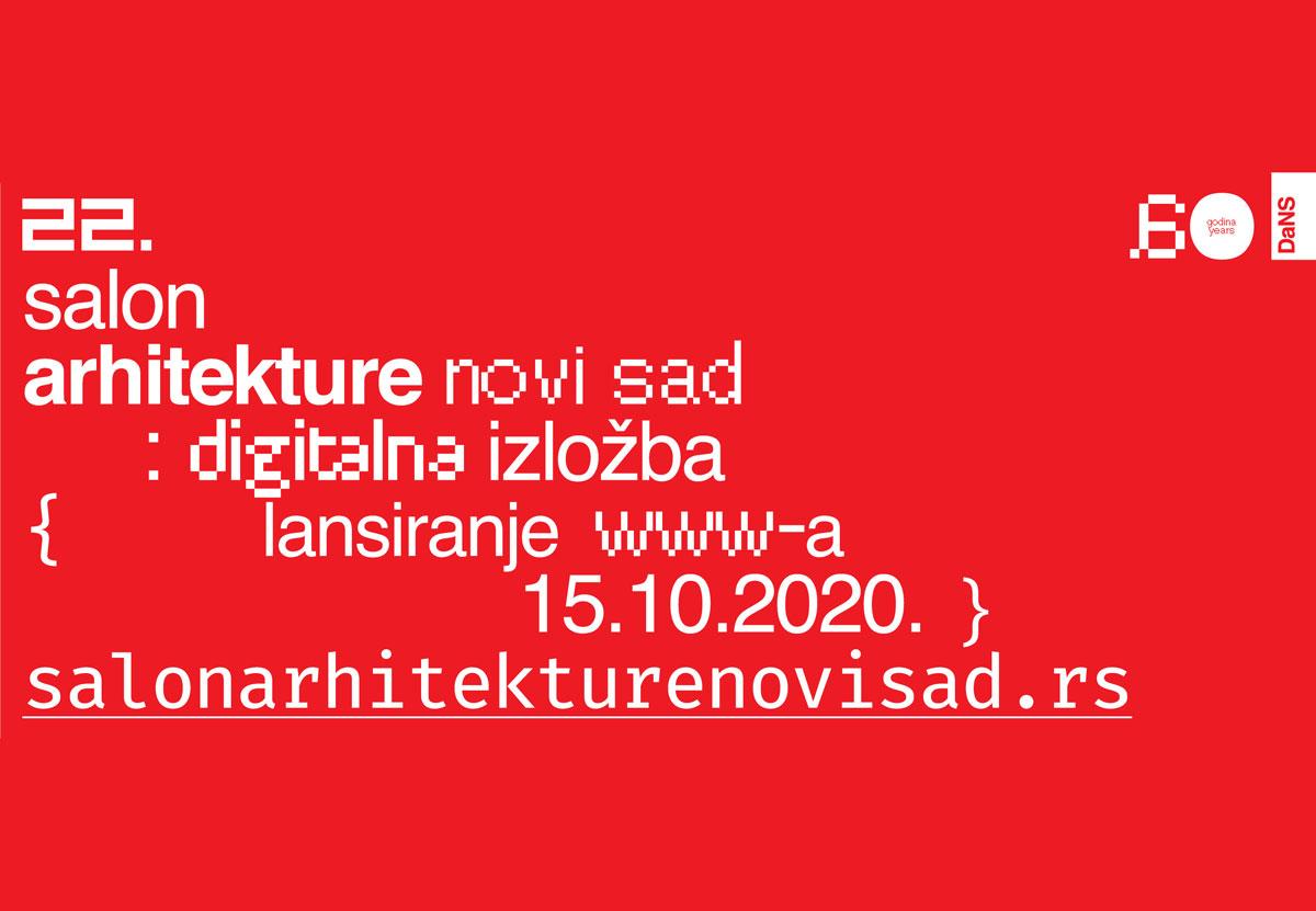 22. Salon arhitekture Novi Sad