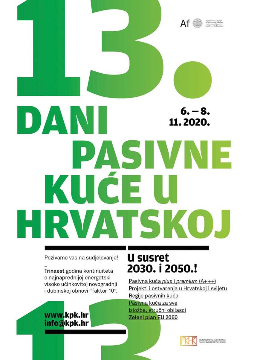 13. Dani pasivne kuće u Hrvatskoj