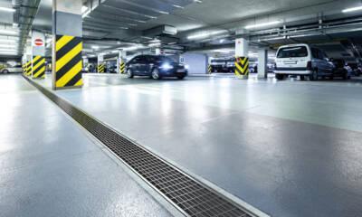 ACO Deckline predstavlja posebno razvijen sistem linijskog odvodnjavanja namenjen podzemnim i nadzemnim garažama
