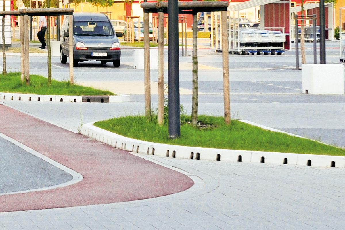 ACO KerbDrain® predstavlja jednostavan i veoma efikasan sistem odvodnjavanja gradskih sredina