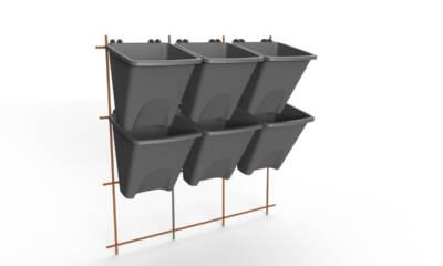 Green Decor sistem vertiklanog ozelenjavanja - kasetni zeleni zid