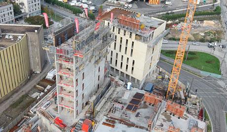 Siniat i Promat u izgradnji najvišeg tornja od drvene i betonske konstrukcije - Hyperion