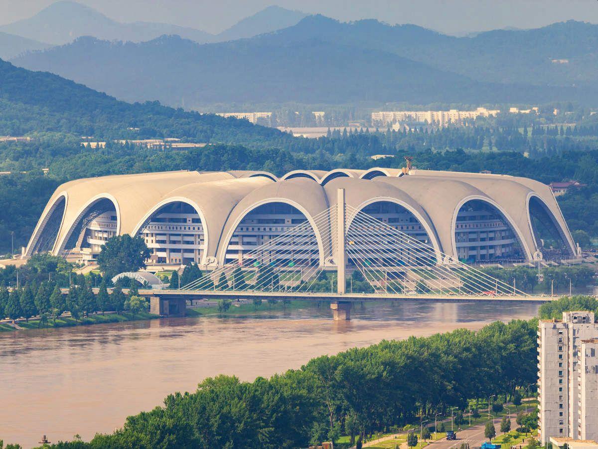 Stadion Prvog maja, Severna Koreja