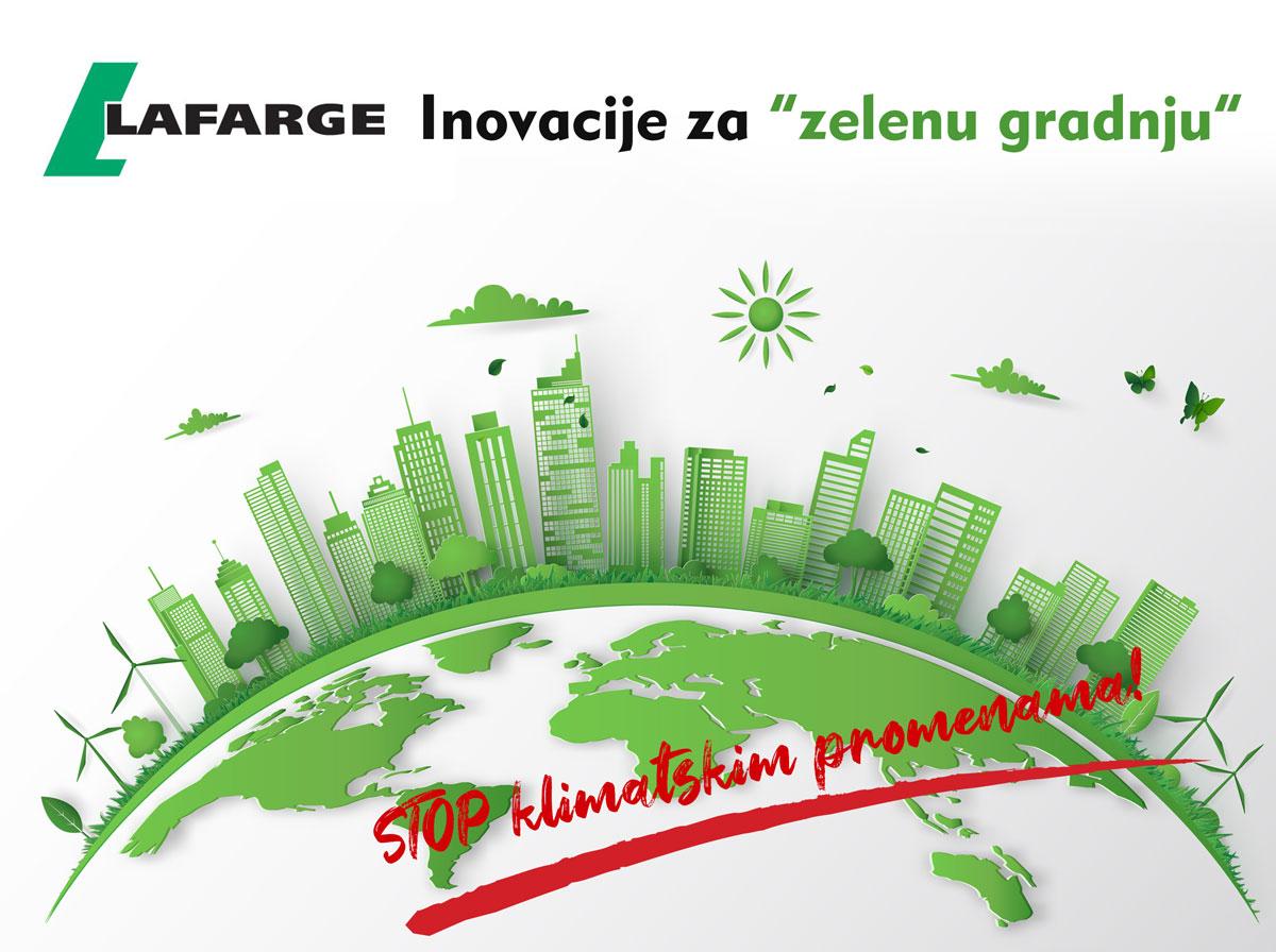 """Lafarge inovacije za """"zelenu gradnju"""""""