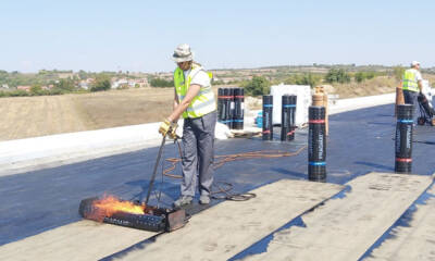 Varenje traka za hidroizolaciju / foto: Fragmat S
