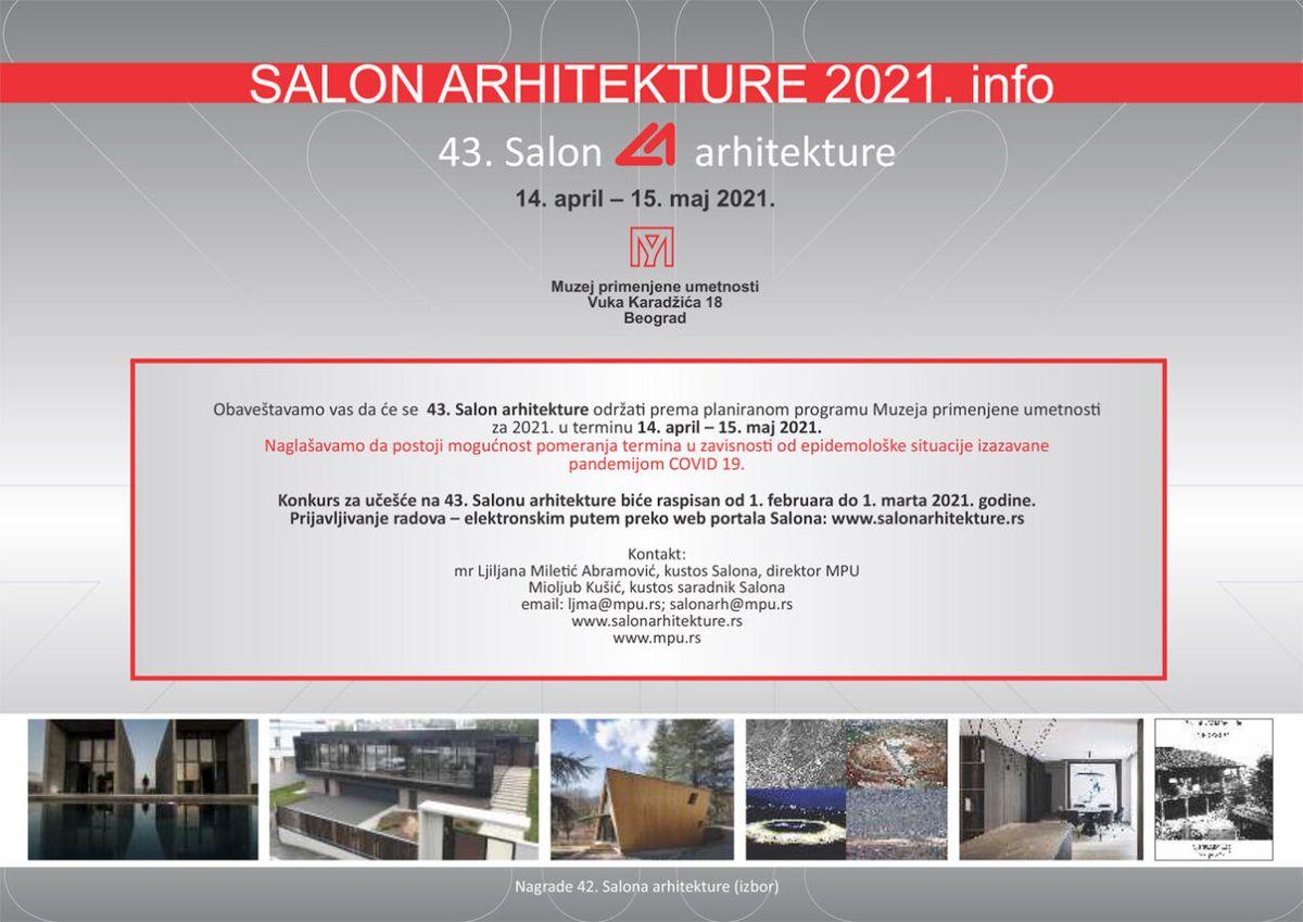 43. Salon arhitekture