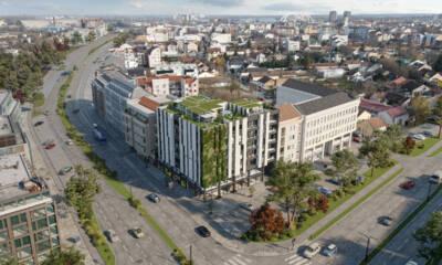 Erker Inženjering doo, poslovno-stambeni objekat u Novom Sadu, ul. Kisačka 66