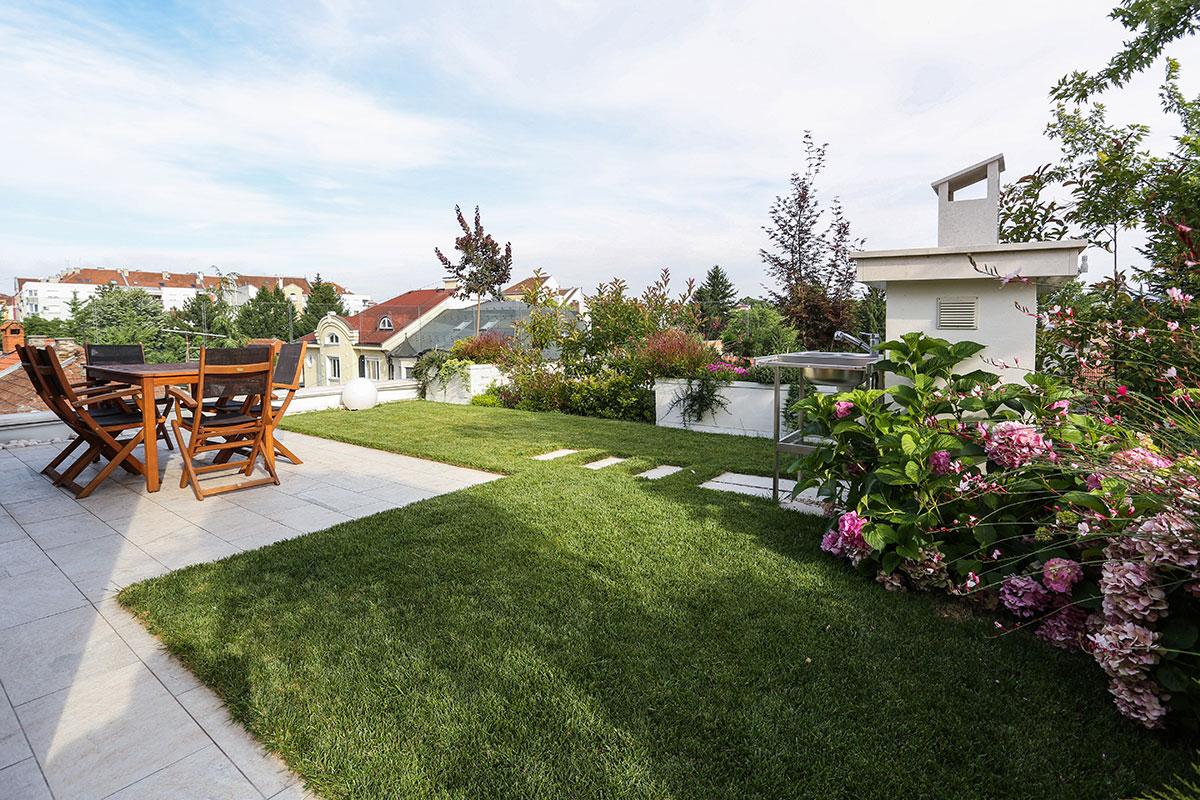 Zeleni krov na stambenom objektu