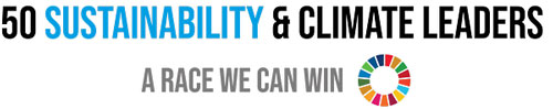 logo 50 sustainability and climate leaders