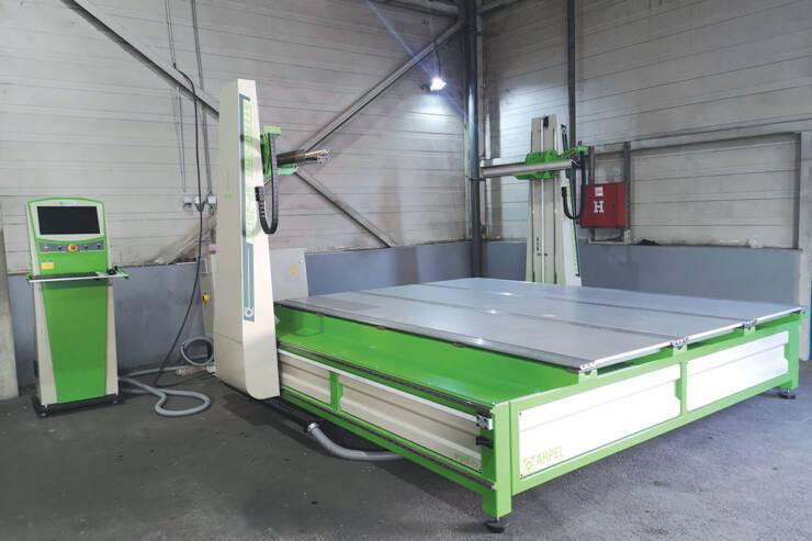 Nova CNC mašina u fabrici u Valjevu